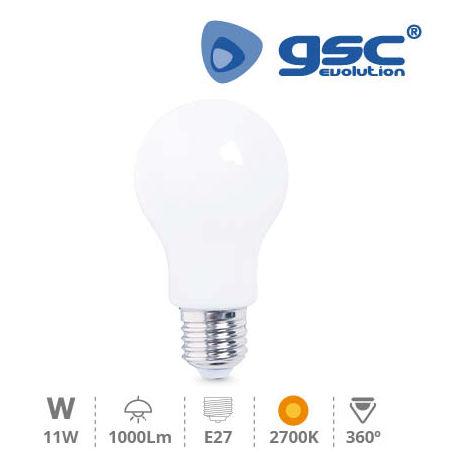 Lámpara Serie Cristal Estandar LED 11W E27 2700K