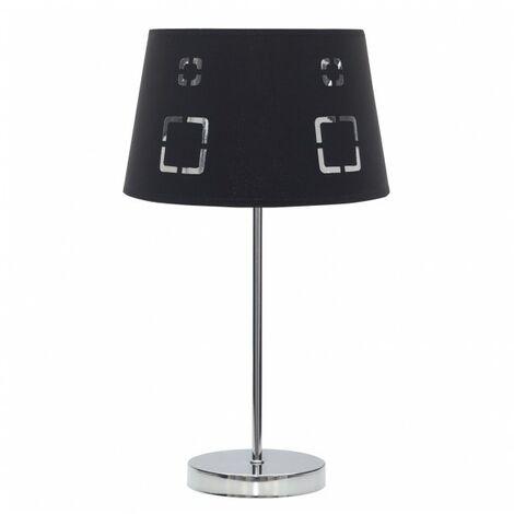 Lámpara Sobremesa Celaya 1xe14 Negro de FABRILAMP.