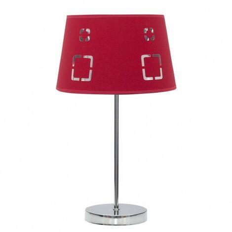 Lámpara Sobremesa Celaya 1xe14 Rojo de FABRILAMP.