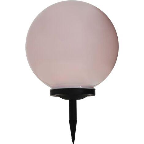Lámpara solar de exterior esférica 40 cm RGB