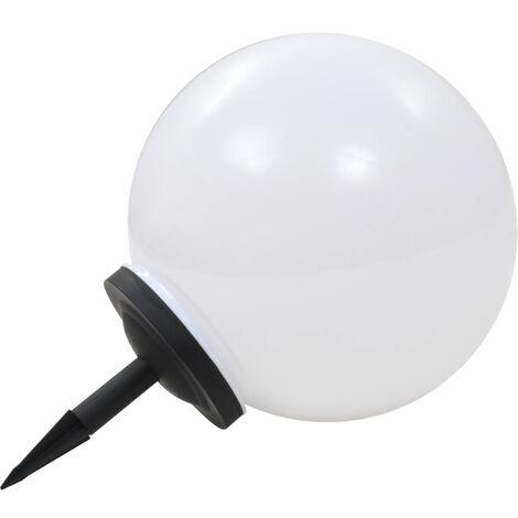 Lampara solar de exterior esferica 40 cm RGB