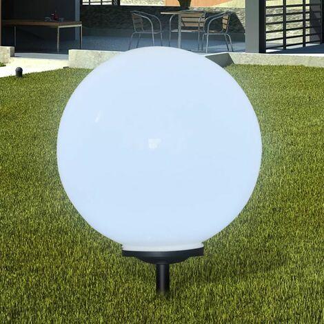 Lampara solar de jardin en forma de bola con LED, 50 cm
