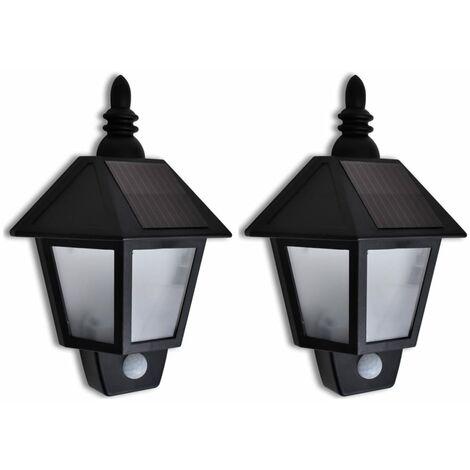 Lámparas de pared con sensor movimiento 2 unidades