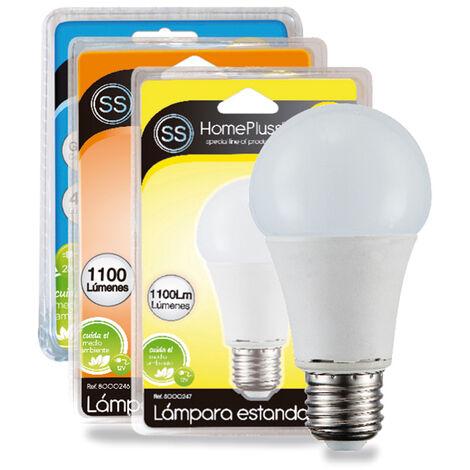 LAMPARA STANDAR LED A65 11W E27 3000K