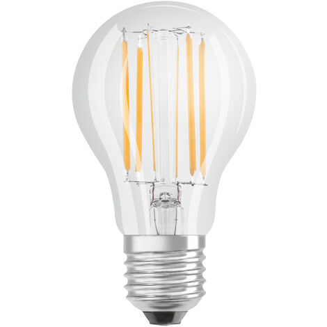 Lámpara standard cristal Led 11W 4000°K 1521Lm (Bellalux 4058075115453)