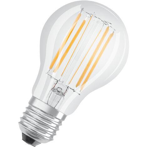 Lámpara standard cristal Led clara Retrofit regulable 9W 2700°K 1055Lm (Osram 4058075287587)