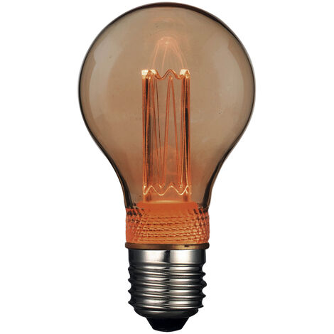 Lámpara standard cristal Led efecto incandescente 2W 1800°K (F-Bright 2601218)