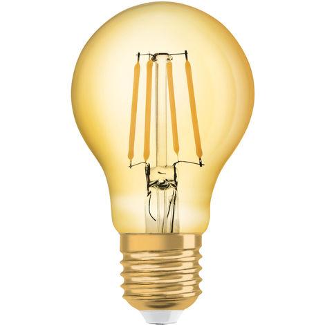Lámpara standard filamento Led edición Vintage 1906 Osram E27 8W 2500°K 950Lm (4058075119307)