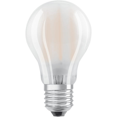 Lámpara standard filamento Led mate regulable E27 6,5W 4000°K 806Lm 60x105mm. (Osram 4058075808270)