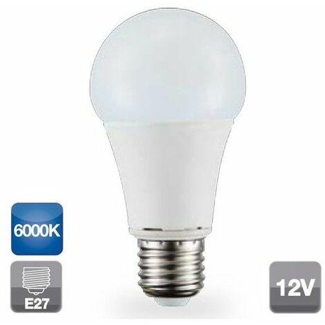 Lámpara standard Led 12V E27 9W 6000°K 806Lm 270° (GSC 2002319)