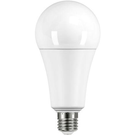 Lámpara standard Led E27 20W 2800°K 2452Lm 67x143mm. (Duralamp A6725WW)