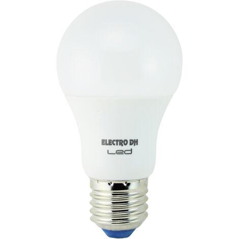 Lámpara standard Led E27 6,5W 3200°K 470Lm 55x101mm. (DH 81.192/CAL)