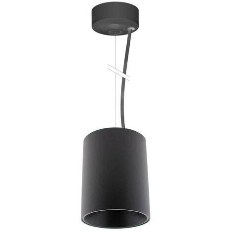 Lámpara Suspendida negra PROLUX Suspend Housing Round Ø110