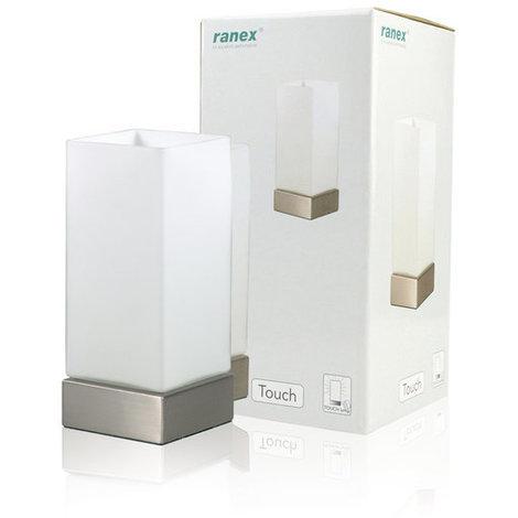 Lámpara táctil de mesa E14 230 V Ranex