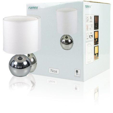 Lámpara táctil de mesa Noa E14 230 V Ranex