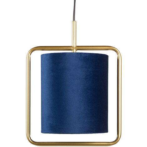 Lámpara techo azul 26x18x106 cm