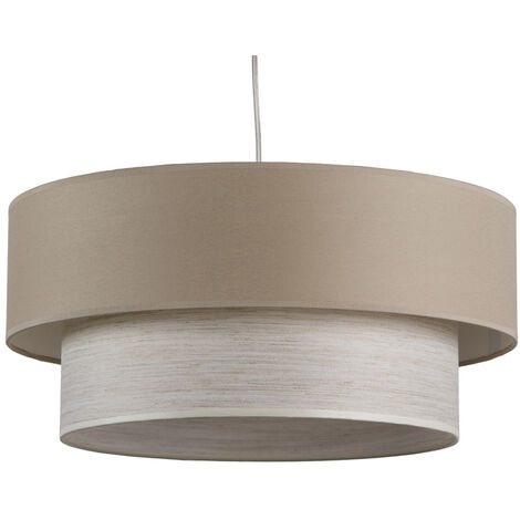 Lámpara techo doble clara 45x45x20 cm