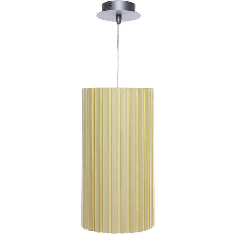 Lámpara Techo Elos Amarilla Grande 1 X E14 (Sin Bombilla) [LTW-66-071-60-130] | Sin Bombilla/Ver Accesorios (LTW-66-071-60-130)