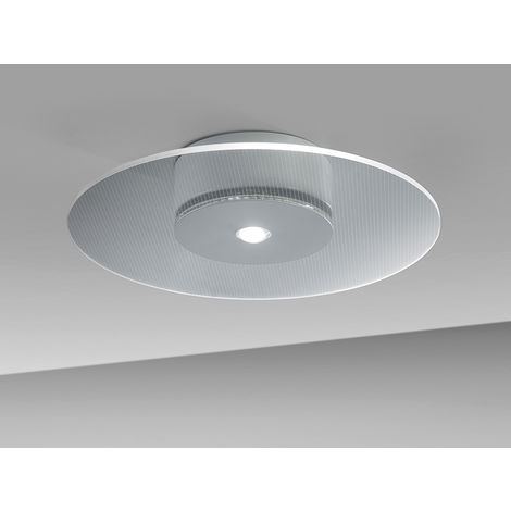 "Lámpara Techo LED ""Air"" Dimable 12W 1400Lm IP44 [ELE-03406_BB-CW]"
