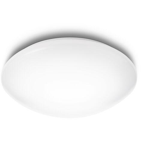 """Lámpara Techo """"Suede"""" Blanco LED 4 x 2,4W 430Lm 2700k [PH-3180131EO] (PH-3180131EO)"""