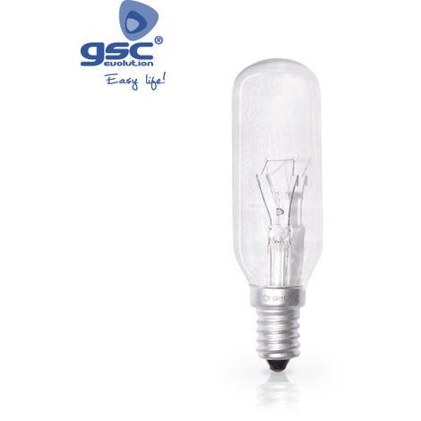 Lámpara tubular Clara 40W E14 230V Ø28mm 400 Lm
