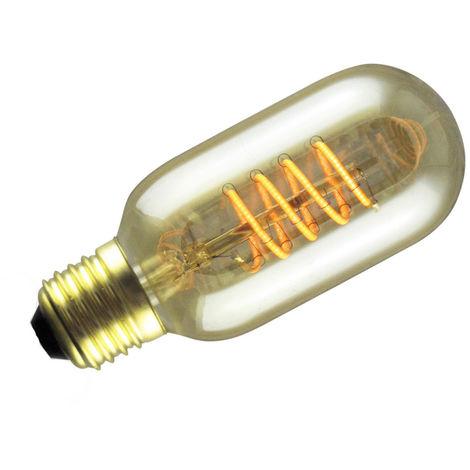 Lámpara tubular Led Decoloop filamento flexible 4W E27 2000°K 45x108mm.(GSC 2004858)