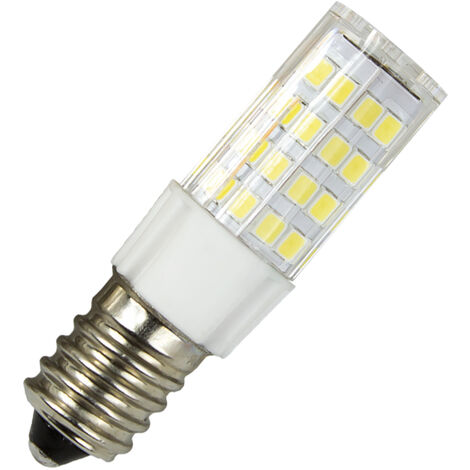 Lámpara tubular Led E14 5W 6500°K 400Lm 360° 18x57mm. (Electro DH 81.598/5/DIA)