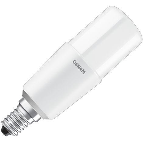 Lámpara tubular Led E14 8W 2700°K 115mm. (Osram 4058075125766) (Blíster)