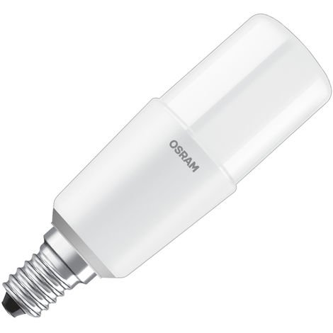 Lámpara tubular Led E14 8W 4000°K 115mm. (Osram 4058075125704) (Blíster)