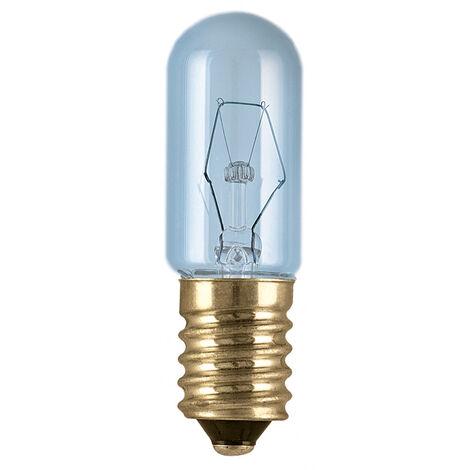 Lámpara tubular para frigorífico E14 15W 90Lm 17x54mm. (Osram 092928) (Blíster)