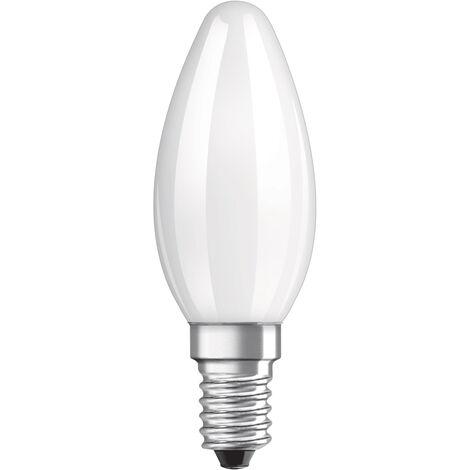 Lámpara vela filamento Led mate E14 5W 2700°K 470Lm (Osram 959187) (Blíster)