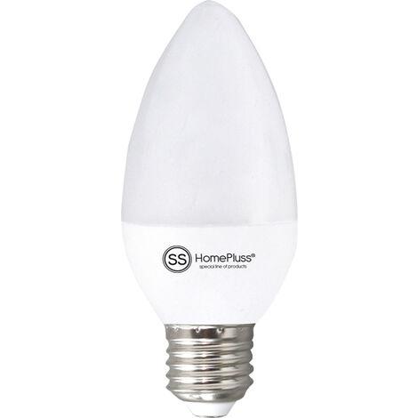 LAMPARA VELA LED 6W E27 6000K