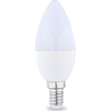 Lámpara vela Led E14 4W 6000°K 470Lm 37x98mm. GSC (2001561)