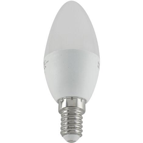 Lámpara vela Led E14 5W 3200°K 430Lm 35x103mm. (DH 81.145/CAL)