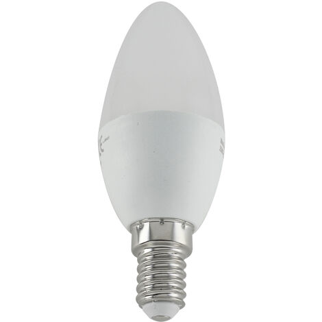 Lámpara vela Led E14 5W 3200°K 430Lm (Electro DH 81.145/CAL)