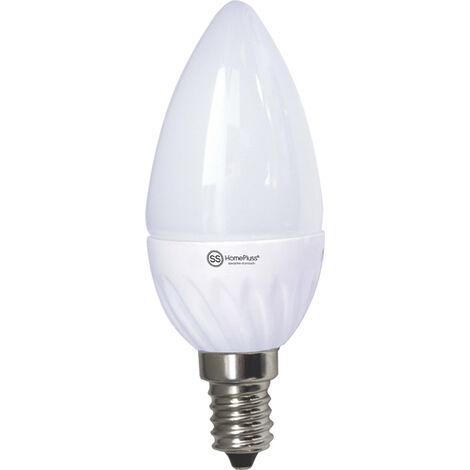 LAMPARA VELA LED E14 7,5W 230V 6000K