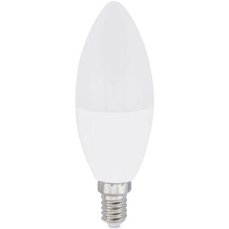 Lámpara vela Led E14 8W 2700°K 650Lm 37x106mm. (GSC 2004892)