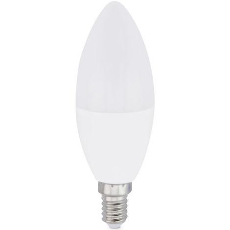 Lámpara vela Led E14 8W 6000°K 650Lm 37x106mm. GSC (2004894)