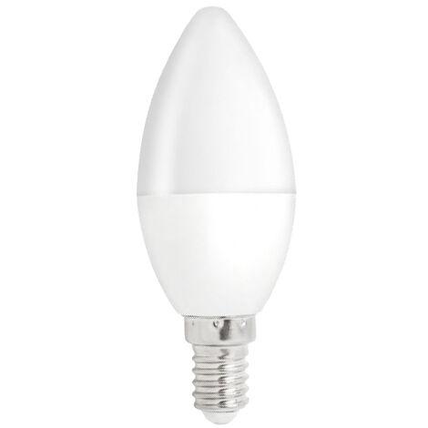 Lámpara vela Led E14 8W 6000°K 680Lm (Spectrum WOJ14222)