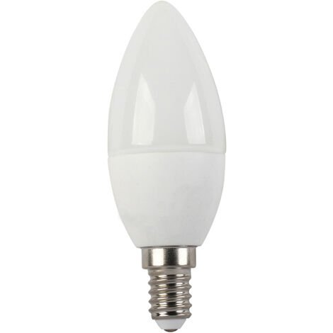 Lámpara vela Led Eco E14 6W 4000°K 560Lm 37x99mm. (F-Bright Eco 2602945)