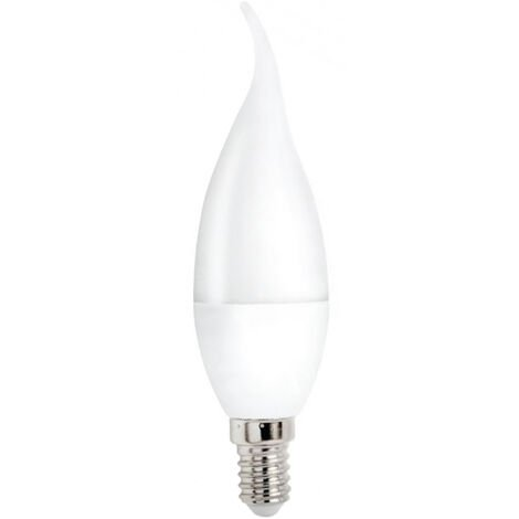 Lámpara vela punta Led E14 8W 6000°K 680Lm (Spectrum WOJ14226)