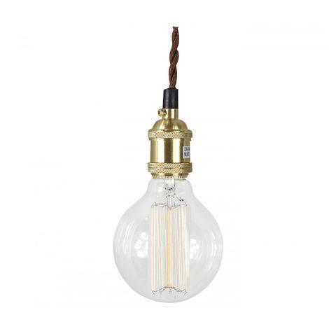 Lámpara vintage de suspension