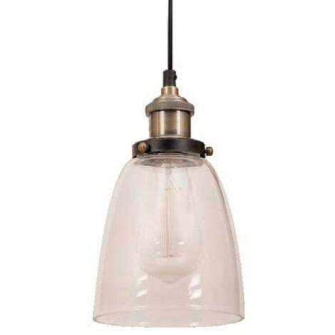 Lámpara vintage Volta cuero