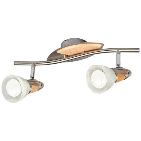 LámparaLEDde techoMarena con 2focos, E14 R50