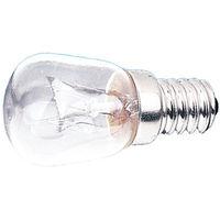 Lamparita a rosca E14 230 V 15 W Electro DH. Para iluminación de frigoríficos y escaparates 12.640/15 8430552061624