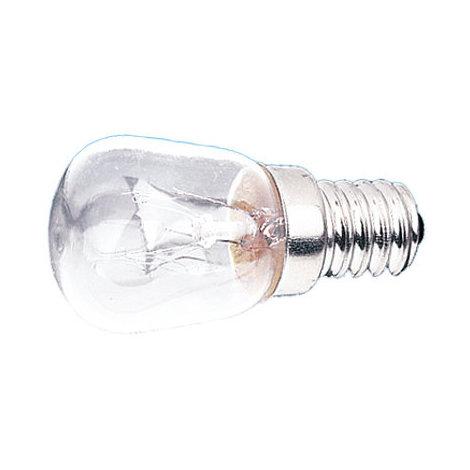 Lamparita a rosca E14 230 V 25 W Electro DH. Para iluminación de frigoríficos y escaparates 12.640/25 8430552062485