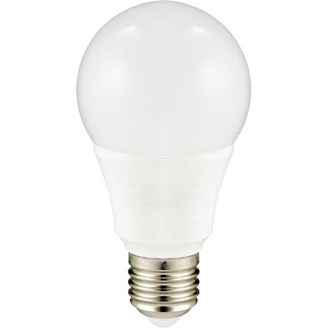 Lampe 9,5 watts agent lumineux DEL-SMD E27 acrylique aluminium 806 lumens 2700 kelvin BT 7925