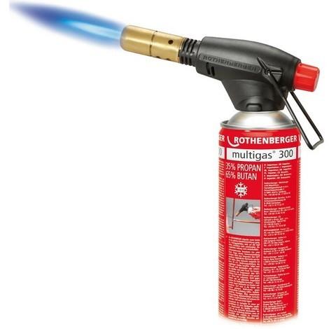 Lampe à braser ROFIRE®, Type d'allumage : avec PIEZO, Raccord 7/16 pouces