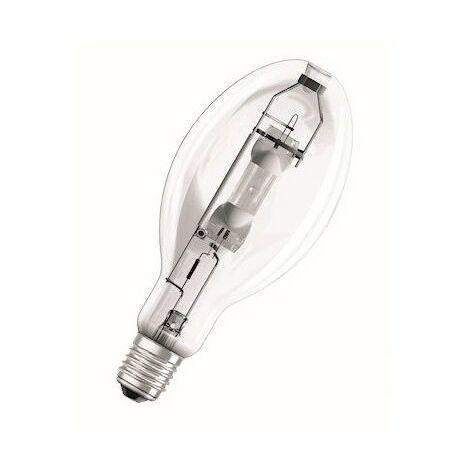 Lampe à decharge 440W iodures métalliques ovoide claire 4000K 42000lm E40 125V POWERSTAR HQI-E OSRAM 526700