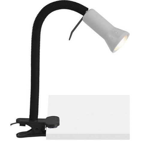 Lampe à fixation serre joint FLEX 1x40W E14 TITANE - BRILLIANT -